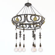 Cluny Castle Chandelier 3d model
