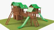 Oyun alanı 3d model