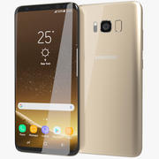 Samsung Galaxy S8 Plus Maple Gold 3d model
