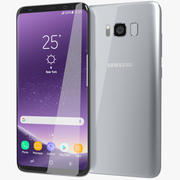 Samsung Galaxy S8 Plus Arctic Silver 3d model