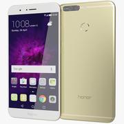 Huawei Honor 8 Pro / Honor V9 Gold 3d model