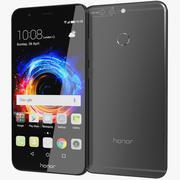 Huawei Honor 8 Pro / Honor V9 Preto 3d model