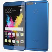 Huawei Honor 8 Pro / Honor V9 Azul 3d model
