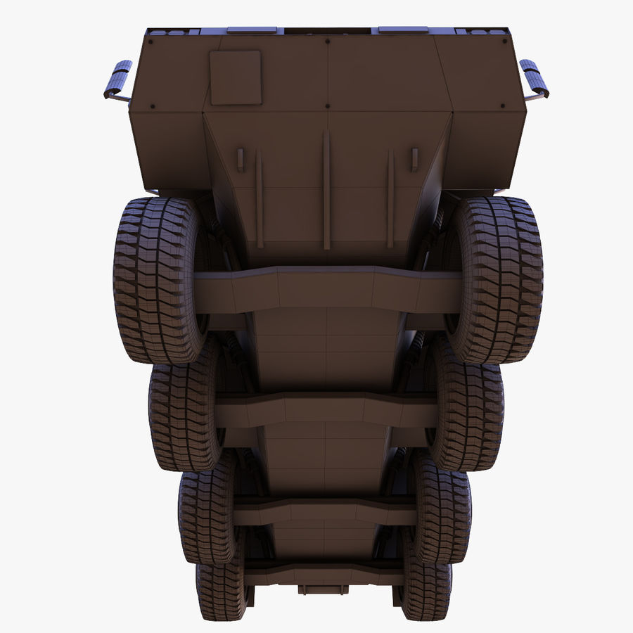 GTK Boxer Armored Military Vehicle royalty-free 3d model - Preview no. 14