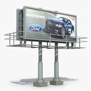 Billboard 3 modelo 3d