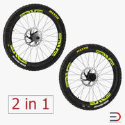 Bicycle Wheels 3D Models Collection 3d model