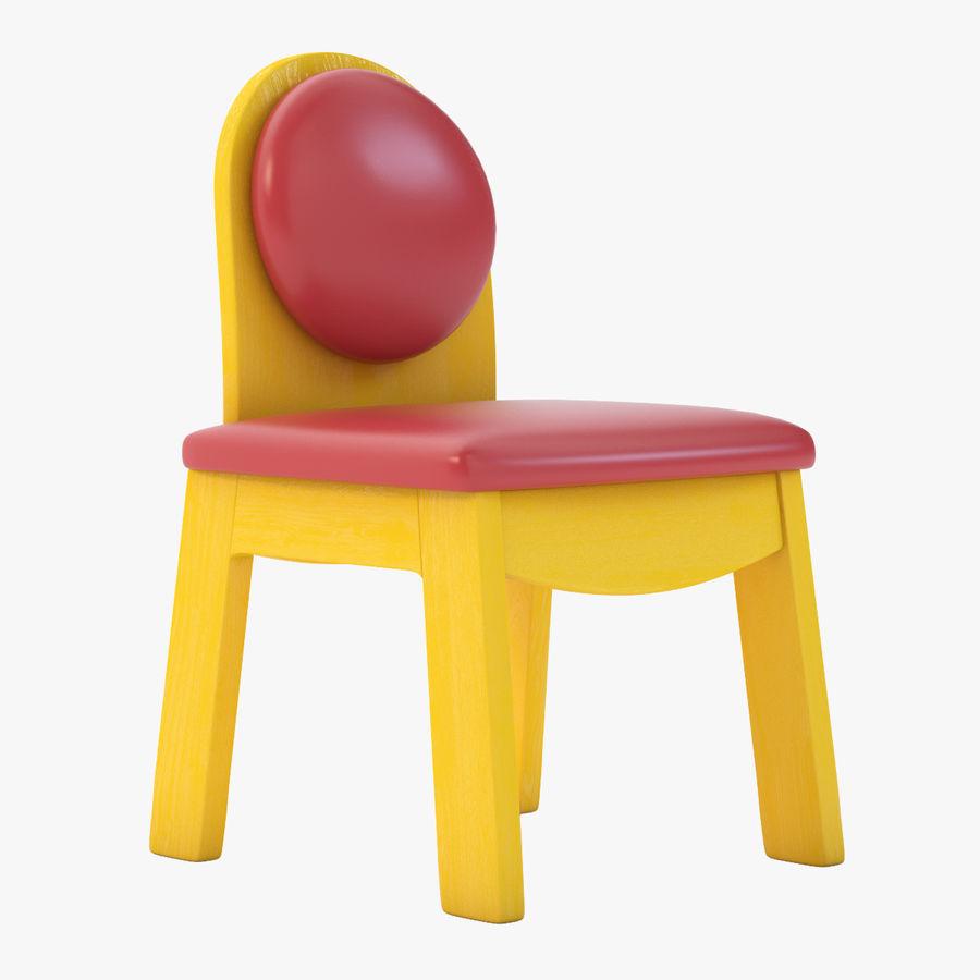 Детское кресло Junior 200 royalty-free 3d model - Preview no. 1