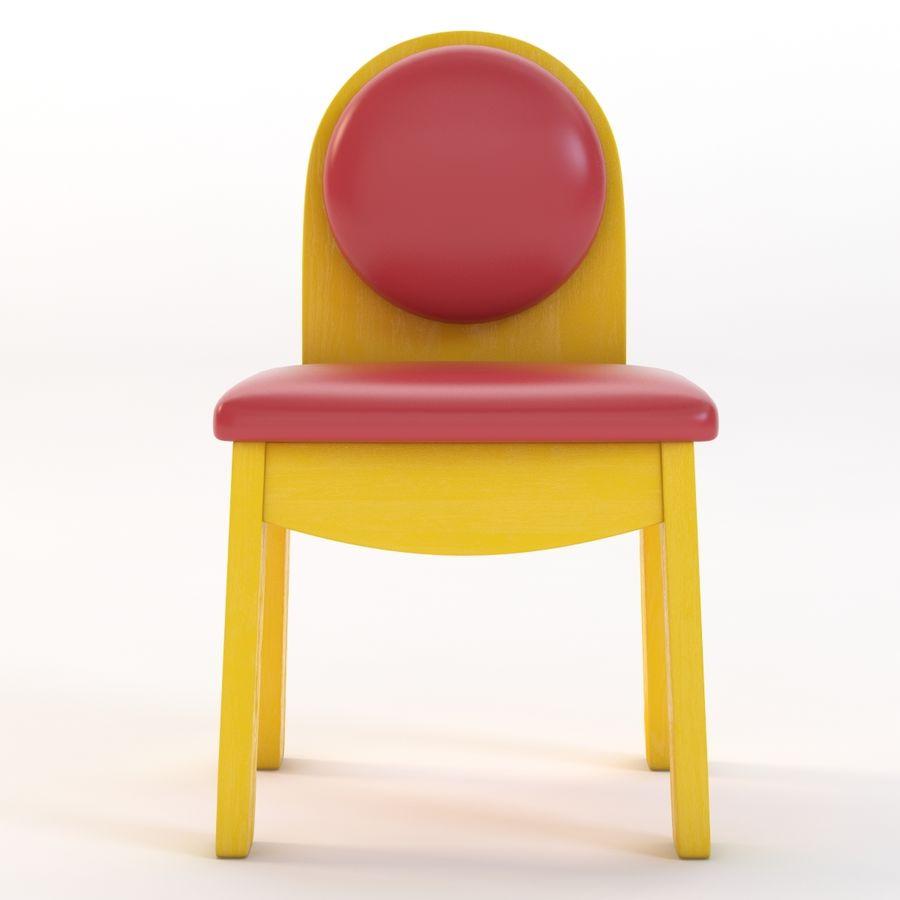 Детское кресло Junior 200 royalty-free 3d model - Preview no. 5