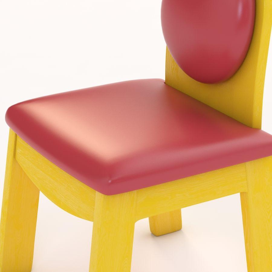 Детское кресло Junior 200 royalty-free 3d model - Preview no. 10