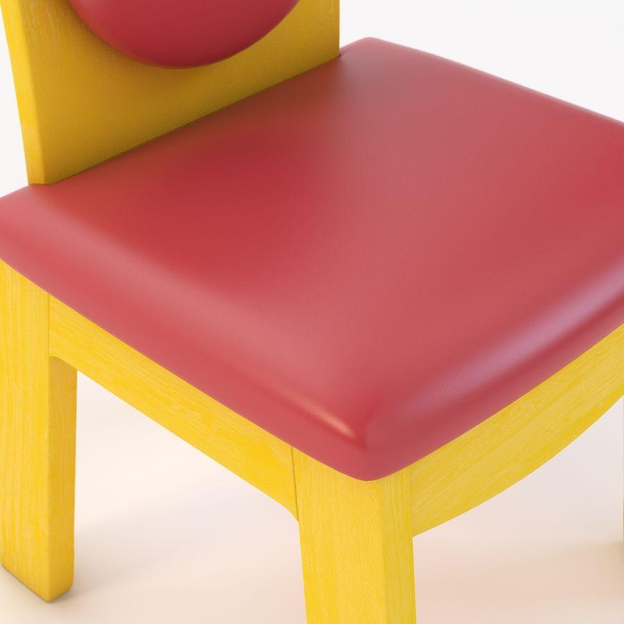 Детское кресло Junior 200 royalty-free 3d model - Preview no. 9