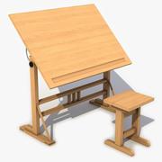 Çizim masası 3d model