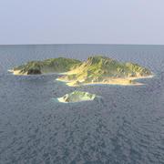 остров 3d model