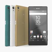 Набор 3D моделей Sony Xperia Z5 3d model