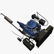 Двигатель 5 3d model