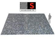 Pavement Wall Scan 8K 3d model
