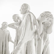 Auguste Rodin - The Burghers of Calais 3d model