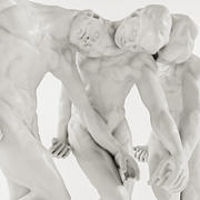Auguste Rodin - The Three Shades 3d model