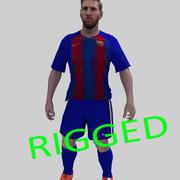 Messi aparejo modelo 3d