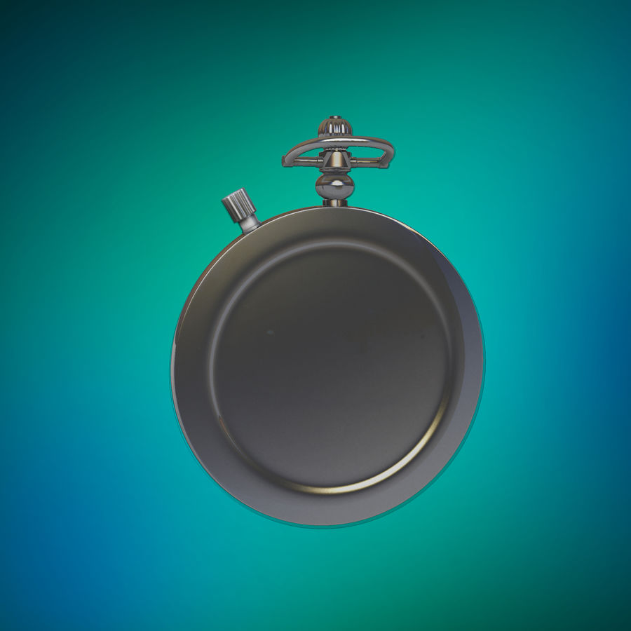 StopWatch royalty-free 3d model - Preview no. 6