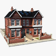 British House 1 3d model