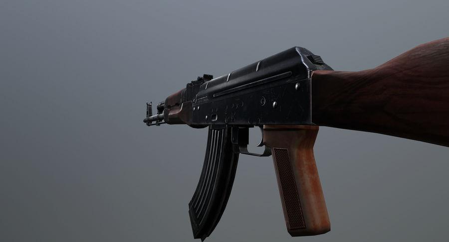 AK-47 geanimeerde FPS royalty-free 3d model - Preview no. 8