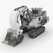Graafmachine Terex RH400 3d model