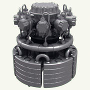 Motore 3d model