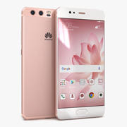 Huawei P10 Rose Gold modelo 3d