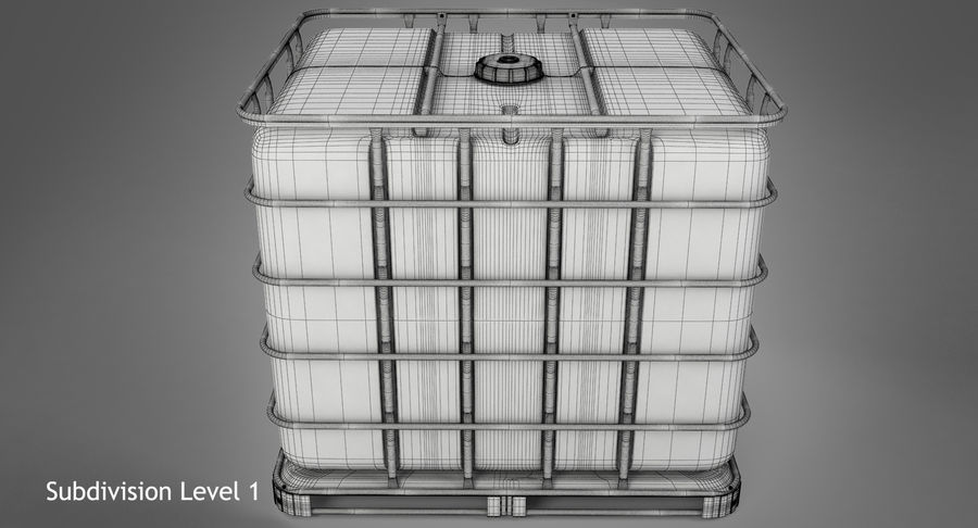Water Storage Tank royalty-free 3d model - Preview no. 14
