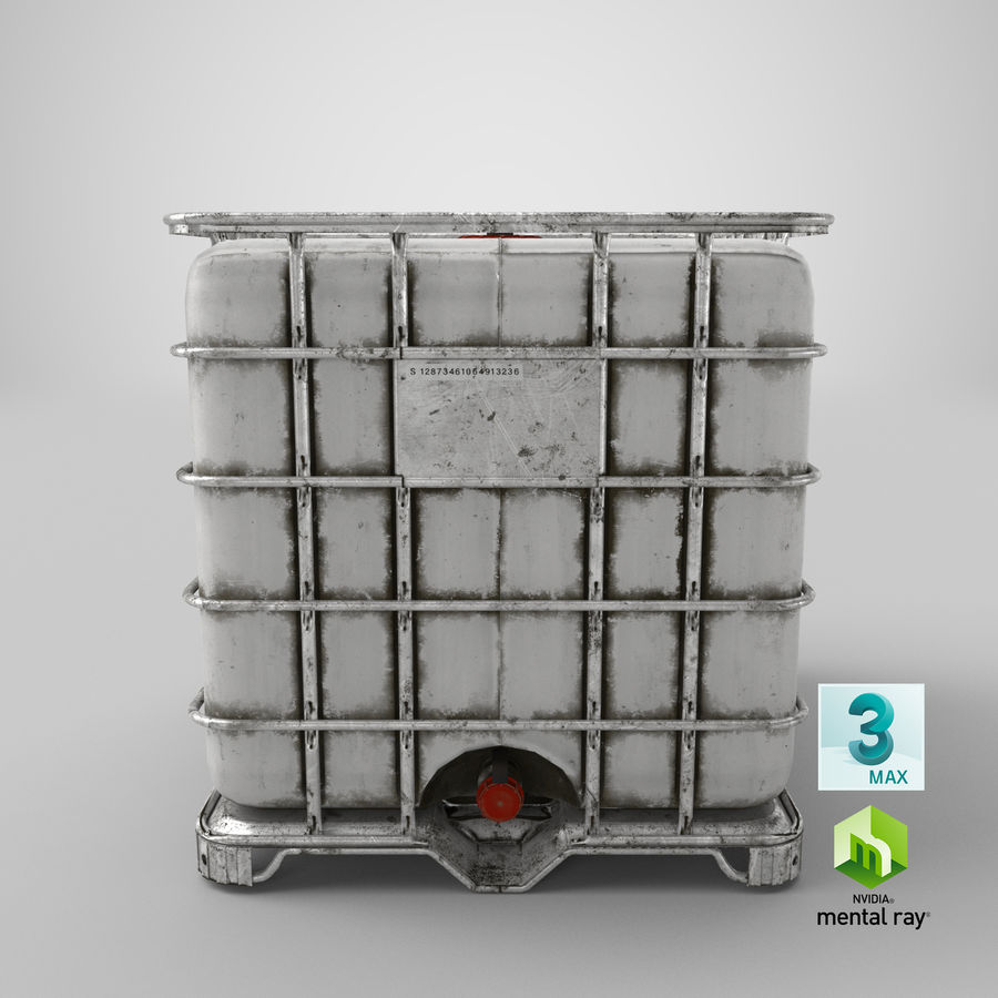Water Storage Tank royalty-free 3d model - Preview no. 19
