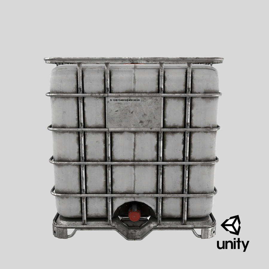 Water Storage Tank royalty-free 3d model - Preview no. 22