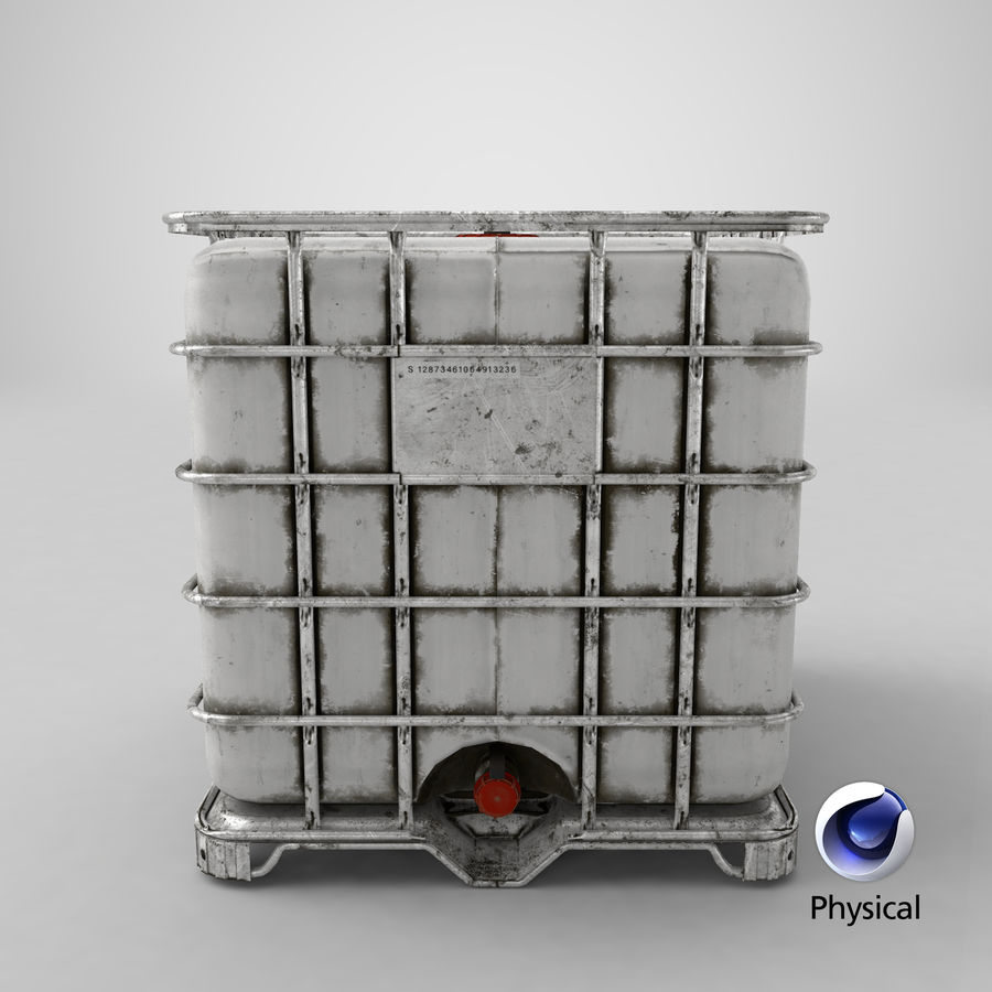 Water Storage Tank royalty-free 3d model - Preview no. 20