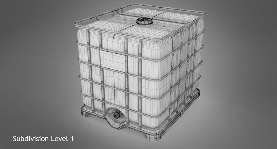 Water Storage Tank royalty-free 3d model - Preview no. 12