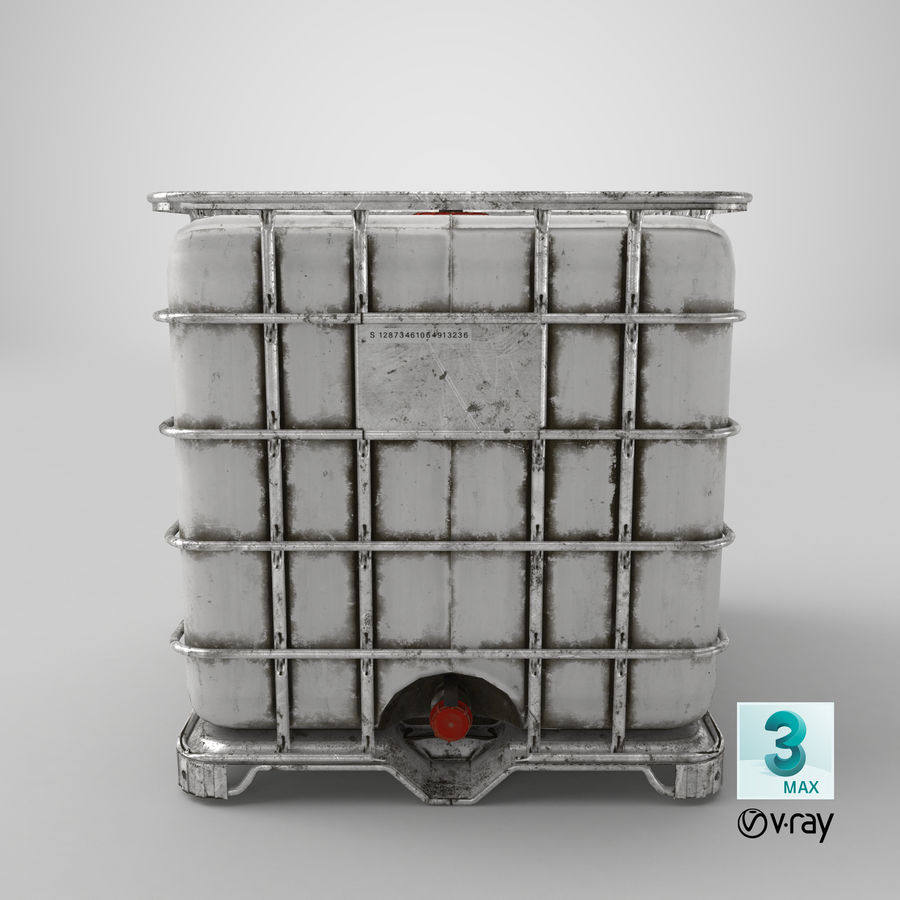 Water Storage Tank royalty-free 3d model - Preview no. 18