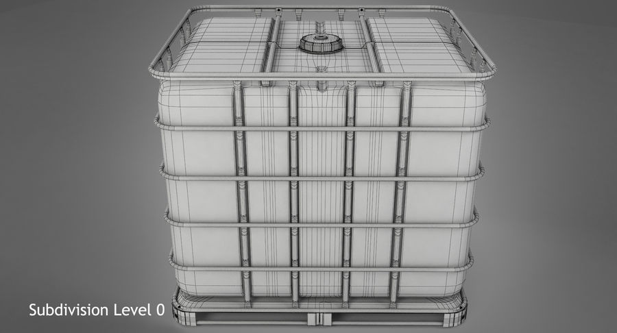 Water Storage Tank royalty-free 3d model - Preview no. 13
