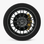 AEZ Crest Dark Disk Car Wheel 3d model
