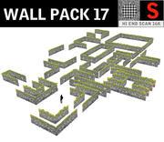 Balayage des murs de la chaussée 8K 3d model