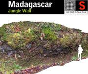 Ściana Dżungli 3d model