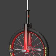 单轮车 3d model