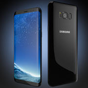Samsung Galaxy S8 and Samsung Galaxy S8+ Smartphones 3d model