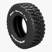 BFGoodrich Mud-Terrain Tire 3d model