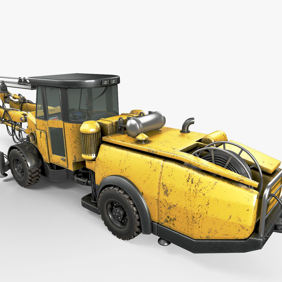 Atlas Boomer M2 royalty-free modelo 3d - Preview no. 13