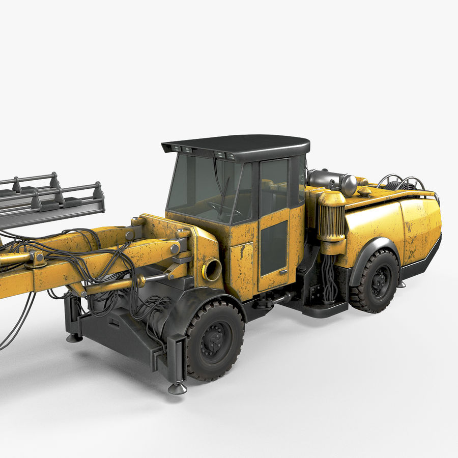 Atlas Boomer M2 royalty-free modelo 3d - Preview no. 16