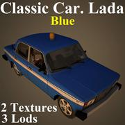 LADA BLU 3d model