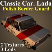 LADA BOR 3d model