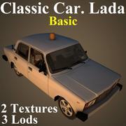 LADA Basic 3d model