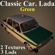 LADA GRE 3d model