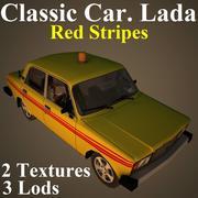 LADA RED 3d model