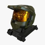 Halo helm 3d model