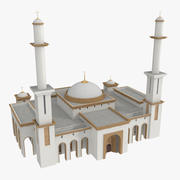 Meczet 3D 3d model